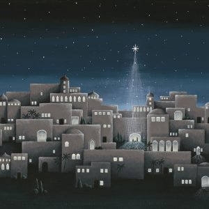 Bethlehem Night Art Print - Hannah Pickering