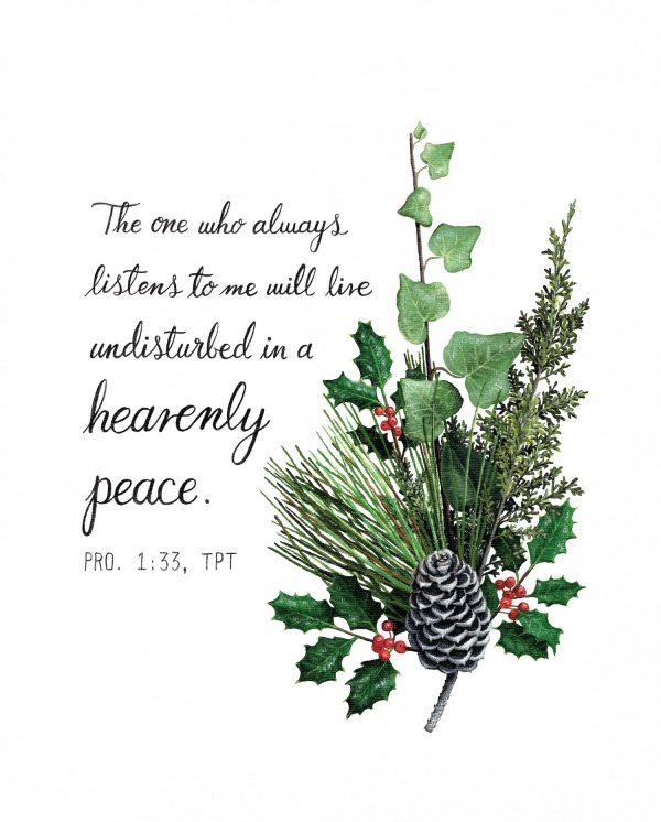 Heavenly Peace Art Print Hannah Pickering